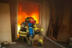 Fire knockdown performance far more effective than water alone or Class A foam